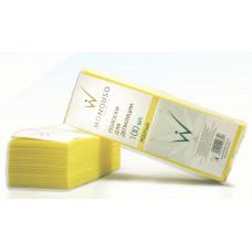 Italwax полоски для депиляции 7*20 «Желтые» 100 шт.