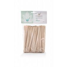 Italwax шпатели деревянные (малые) одноразовые 100 шт.