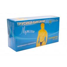 Italwax трусики-бикини для депиляции одноразовые, мужские (50 шт.)