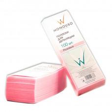 Italwax полоски для депиляции 7*20 «Розовые» 100 шт.