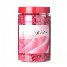 Italwax «Роза» пленочный воск в гранулах (горячий) для депиляции (банка 500 гр.)