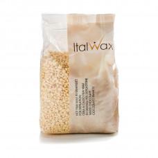 Italwax «Белый шоколад» пленочный воск в гранулах (горячий) для депиляции (пакет 1кг.)