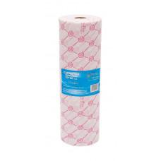 Italwax салфетки (спайнлейс) 30x20 см. одноразовые, розовые рулон 100 шт.
