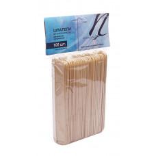 Italwax шпатели деревянные (большие) одноразовые 60 шт.