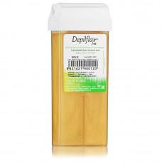 Depilflax «Золотой» воск в картридже для депиляции 110 гр.