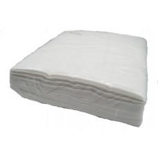 Italwax салфетки (спайнлейс) 30x30 см. одноразовые, белые упаковка 100 шт.